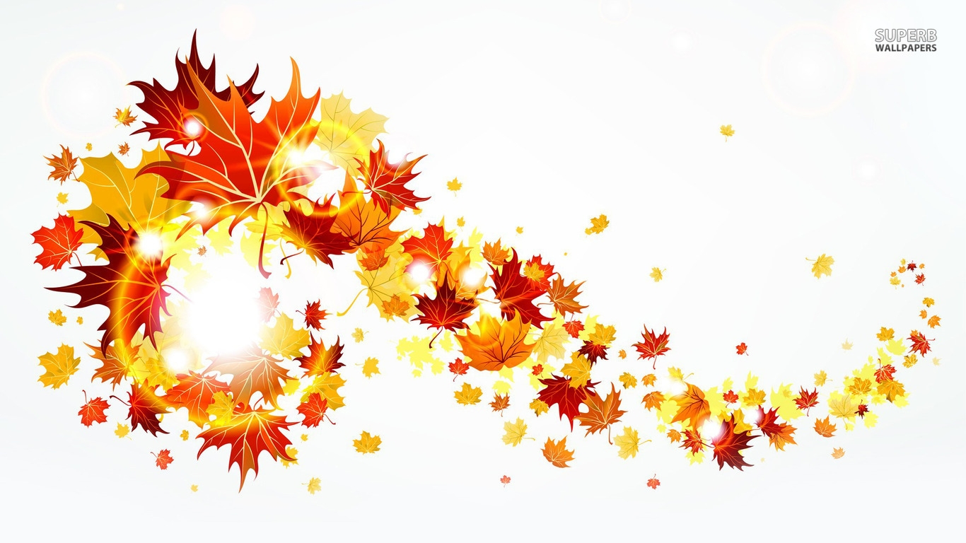 Fall leaves fall border fall foliage clipart clipart