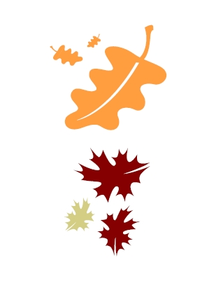 Fall leaves fall leaf clip art outline free clipart images