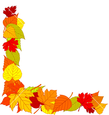 Fall leaves fall leaf clipart border clipartxtras