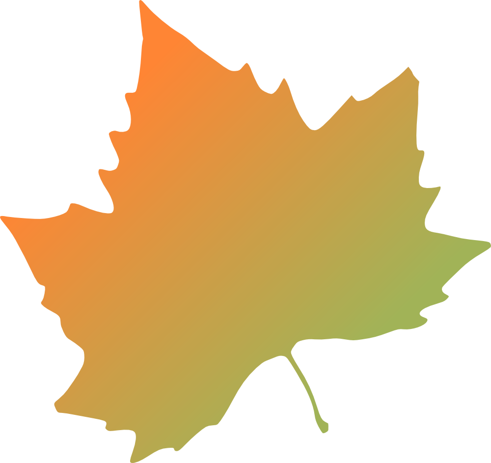 Fall leaves on autumn leaves clipart clipground