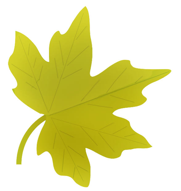 Fall leaves yellow fall leaf clip art 3 free images