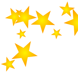 Free borders and clip art downloadable stars