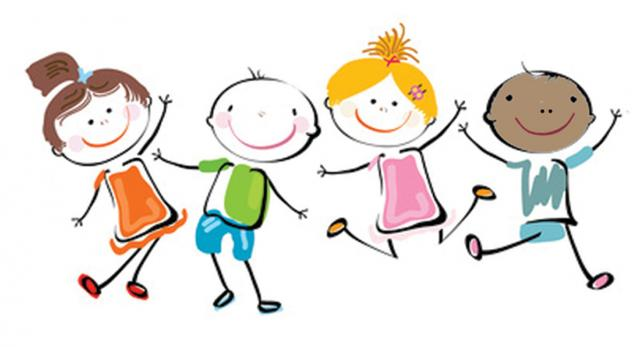 Free clip art children playing free clipart images 2