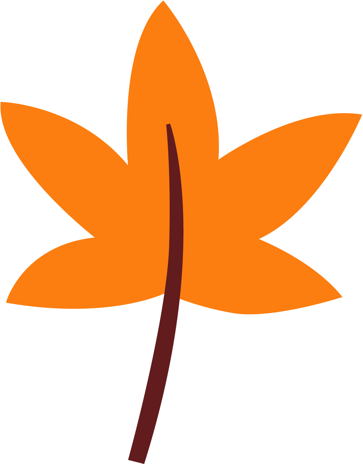 Free fall leaves clip art 3