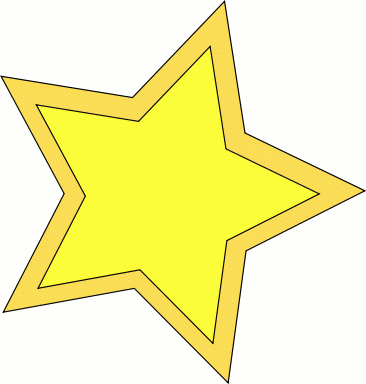 Free gold star clipart clip art images