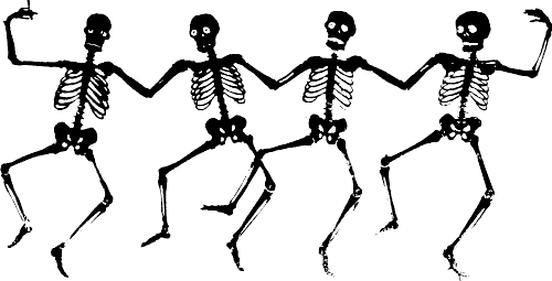 Free halloween clip art black and white free clipart