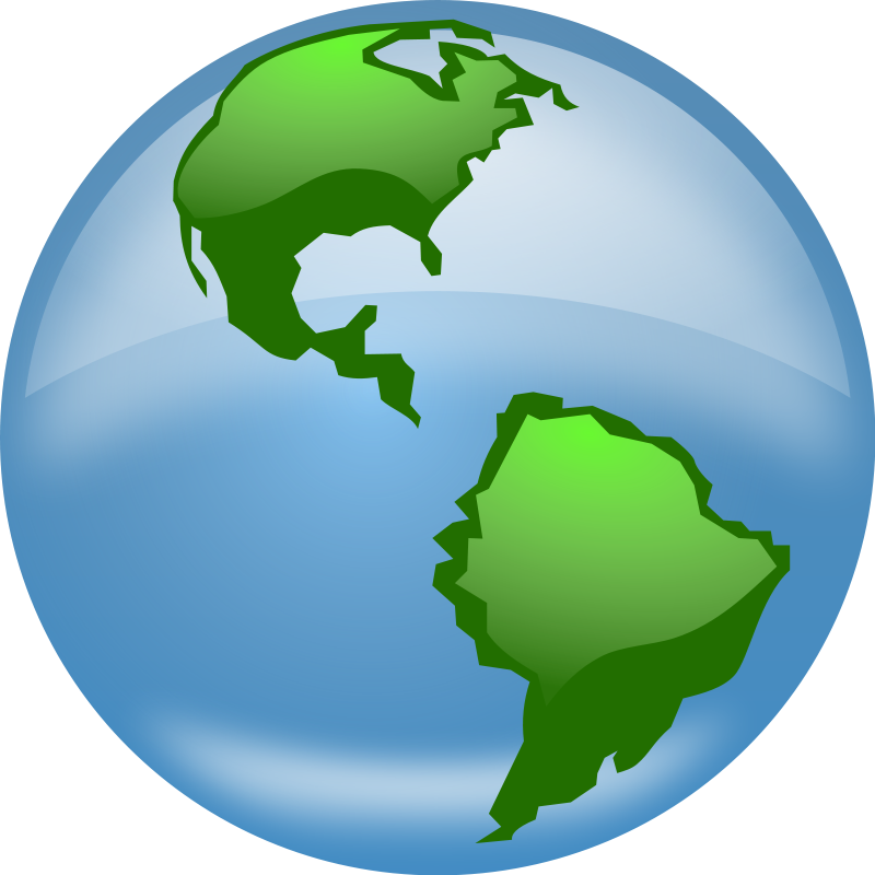 Globe earth clipart black and white free images 3 clipart