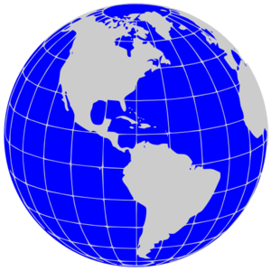 Globe earth clipart black and white free images