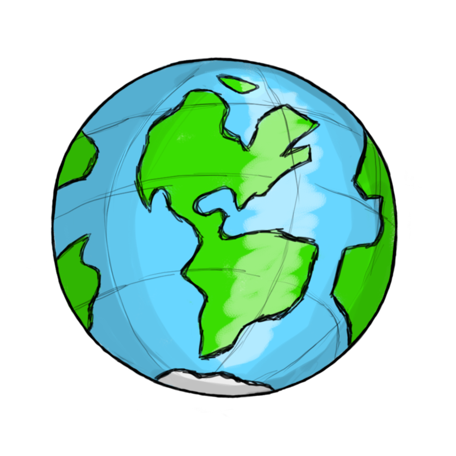 Globe earth clipart free images