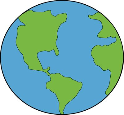 Globe earth clipart pregnant belly painting ideas