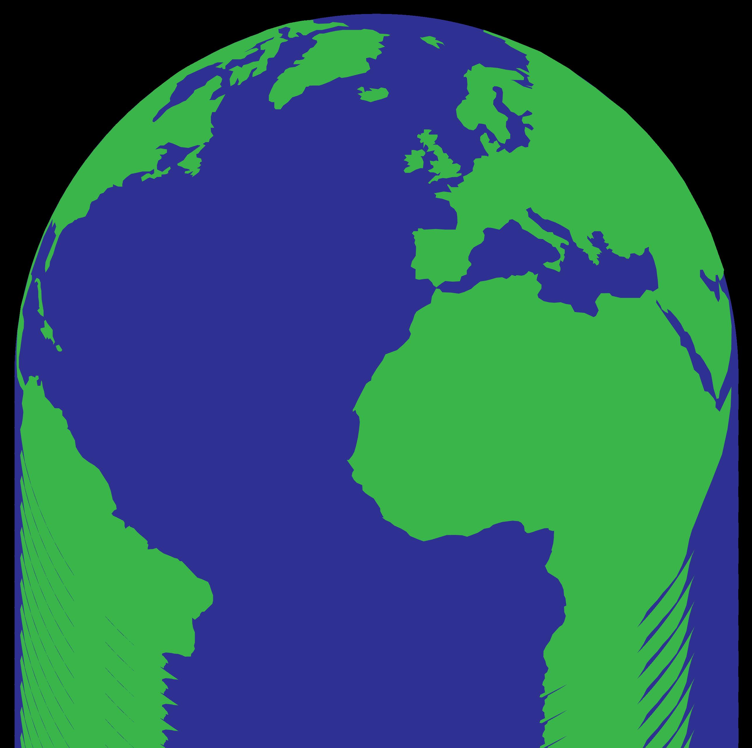 Globe simple planet earth clipartbarn