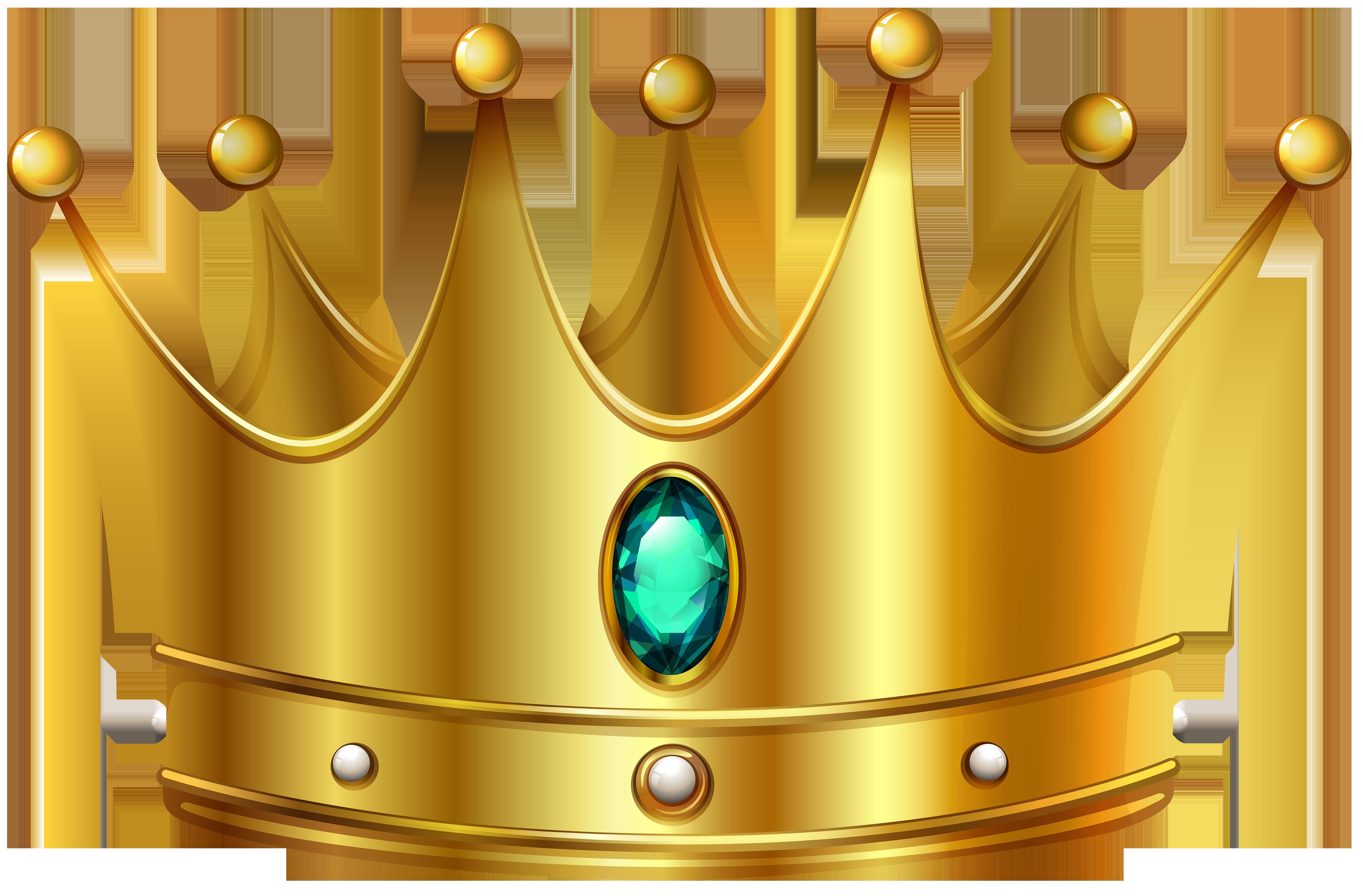 Gold crown clipart clipartandscrap