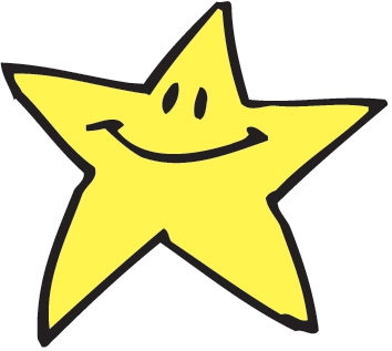 Gold star clipart free images 3