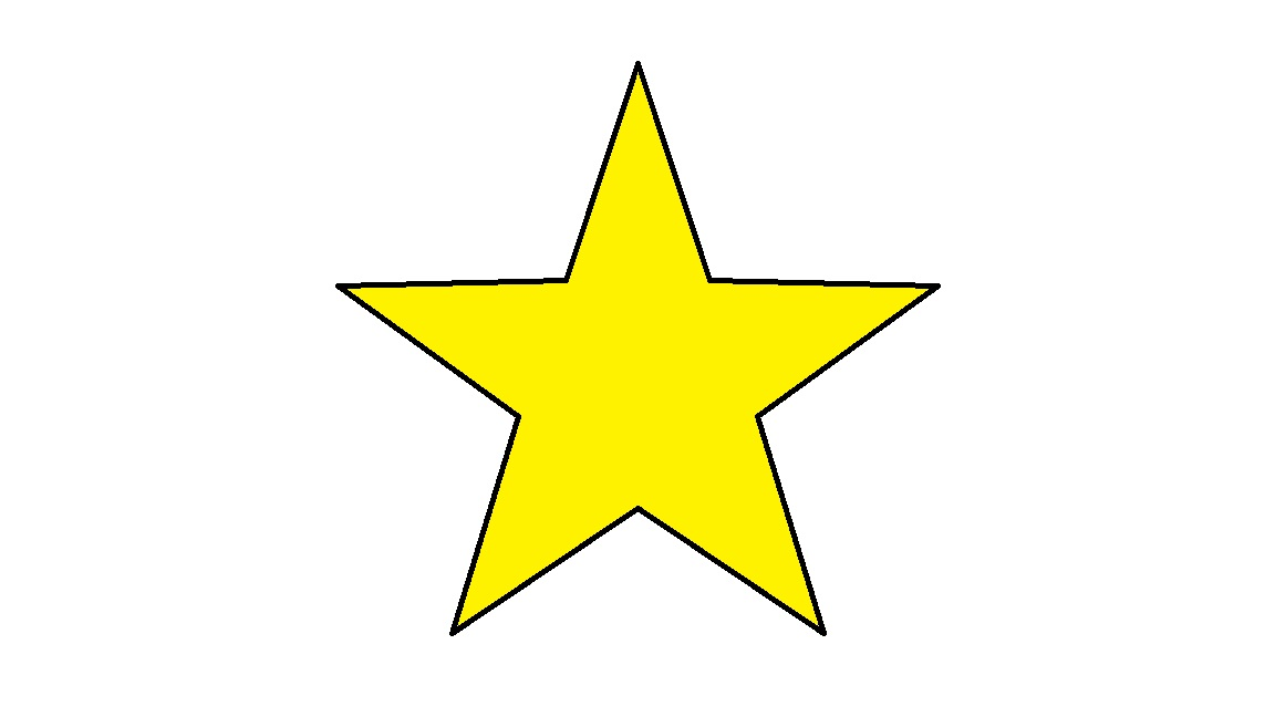 Gold star clipart free images