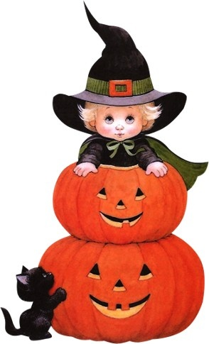 Halloween clip art images on 3