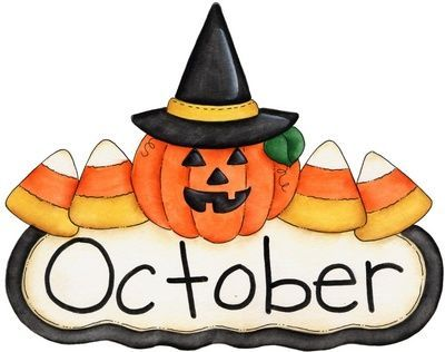 Halloween clip art images on