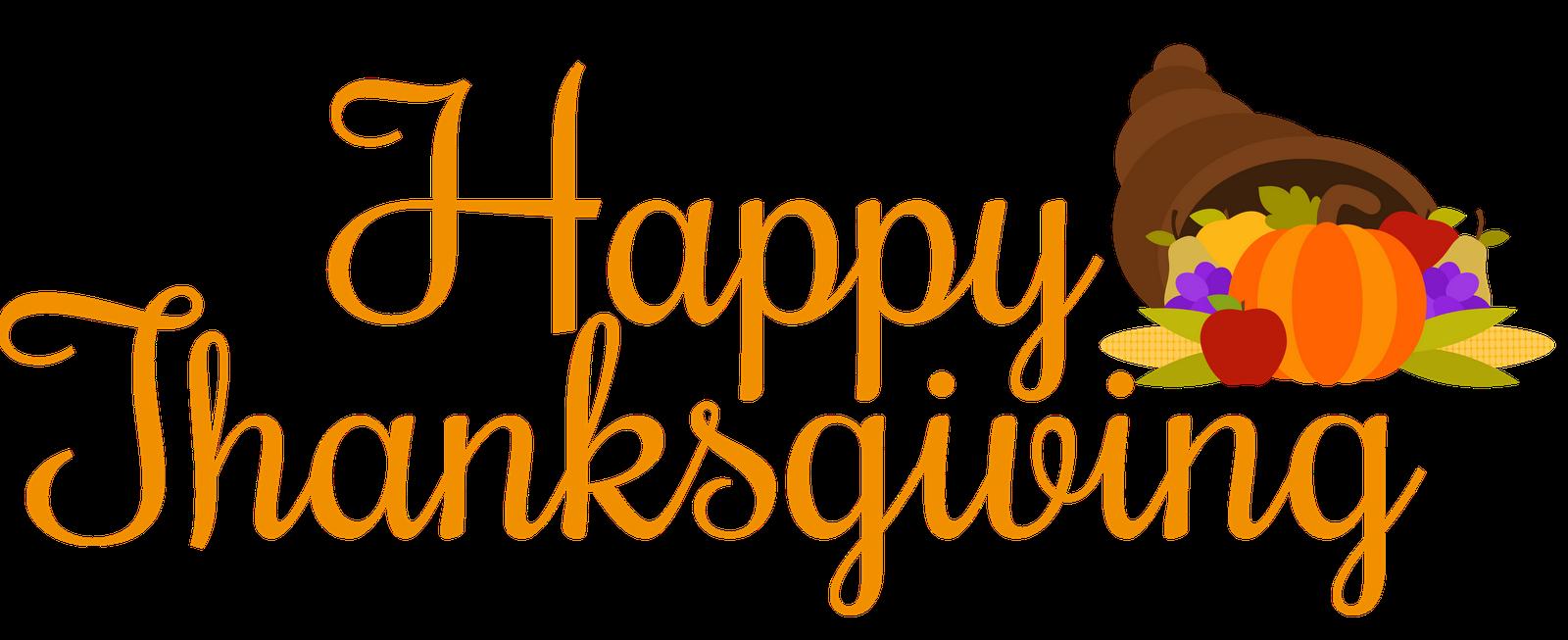 Happy thanksgiving turkey clipart