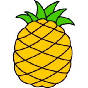 Hawaiian pineapple clipart free clip art images image 0
