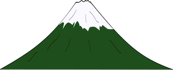 Mountain black and white allinallwalls mountain clip art clipart 3