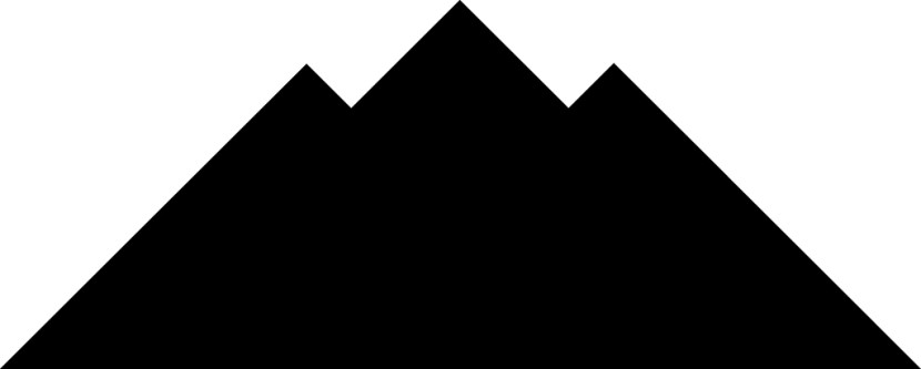 Mountain black and white mountain clipart 2 clipart