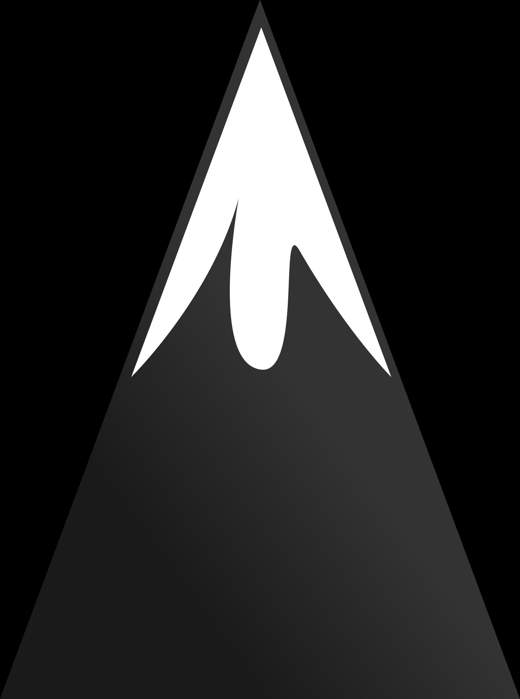 Mountain clip art at vector image 8