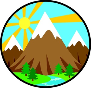 Mountain clip art free download clipart images 3