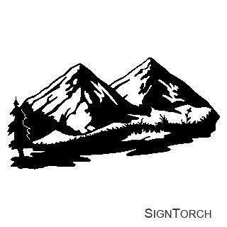 Mountain clipart ideas on simple mountain 4