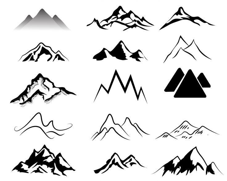 Mountain clipart ideas on simple mountain