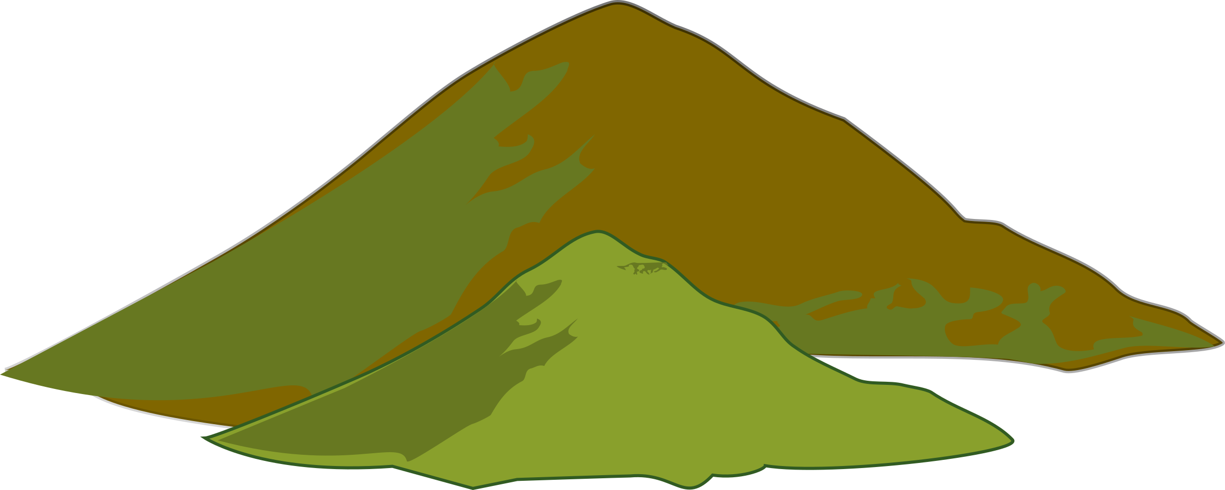 Mountains clipart free clip art images