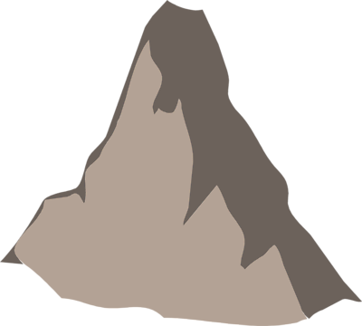 Mountains clipart tiny