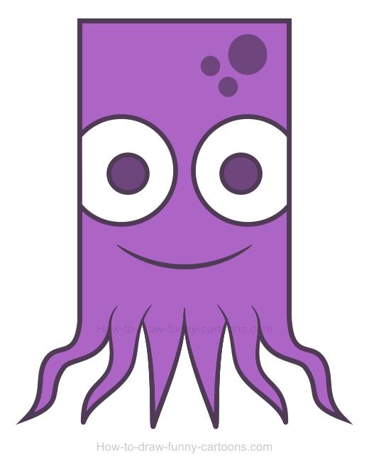 Octopus clipart 3
