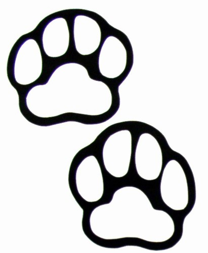 Paw prints grizzly bear paw print clipart free images clipart