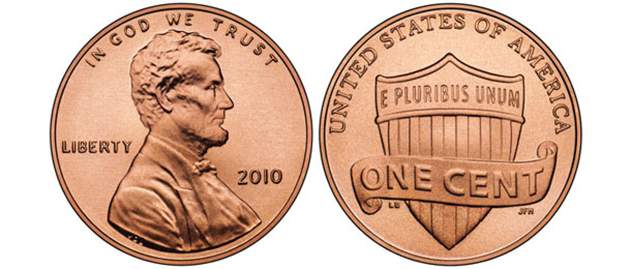 Penny clip art 2