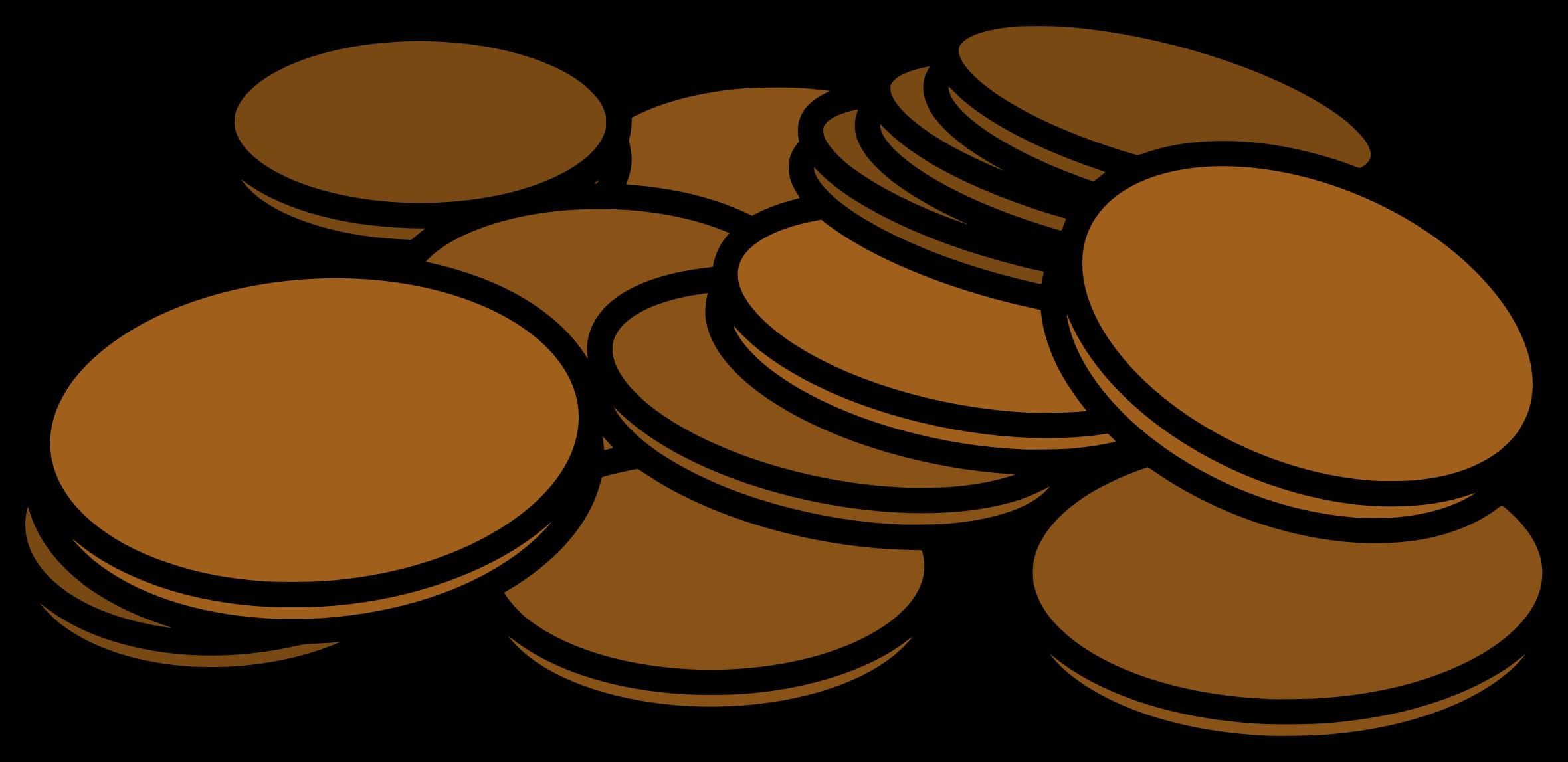 Penny clip art 6