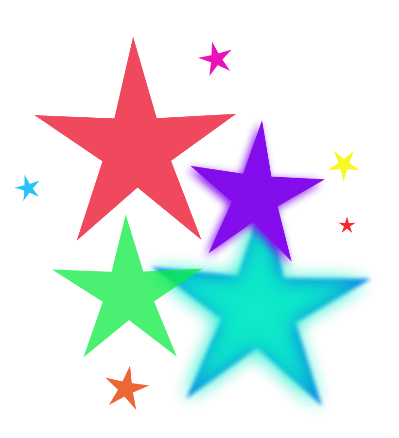 Pictures of 3d stars free download clip art on