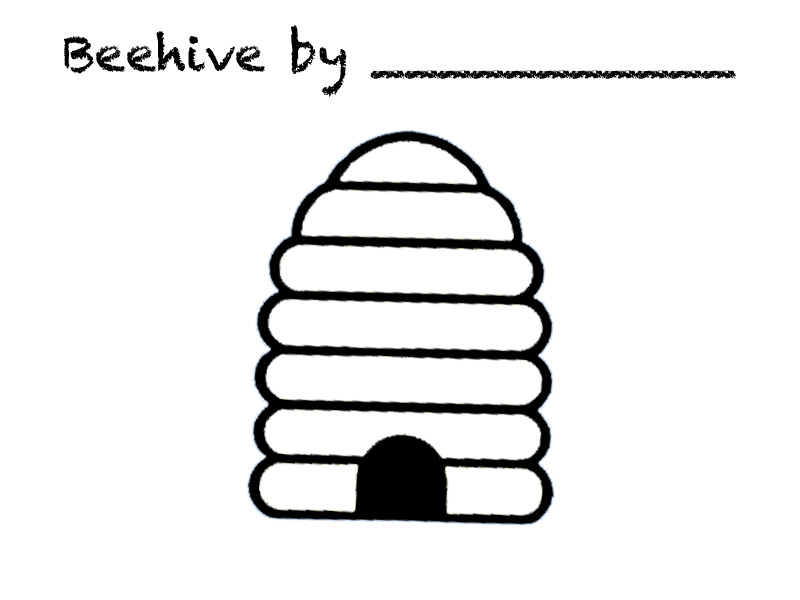 Pictures of a beehive free download clip art