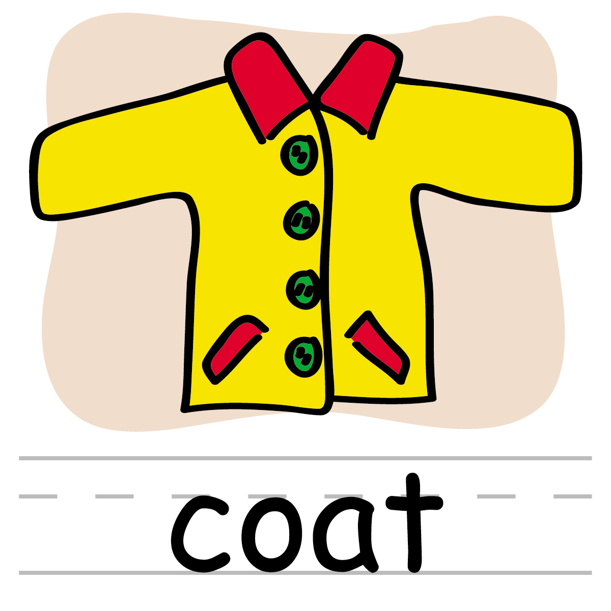 Pictures of coats clipart free clipart images