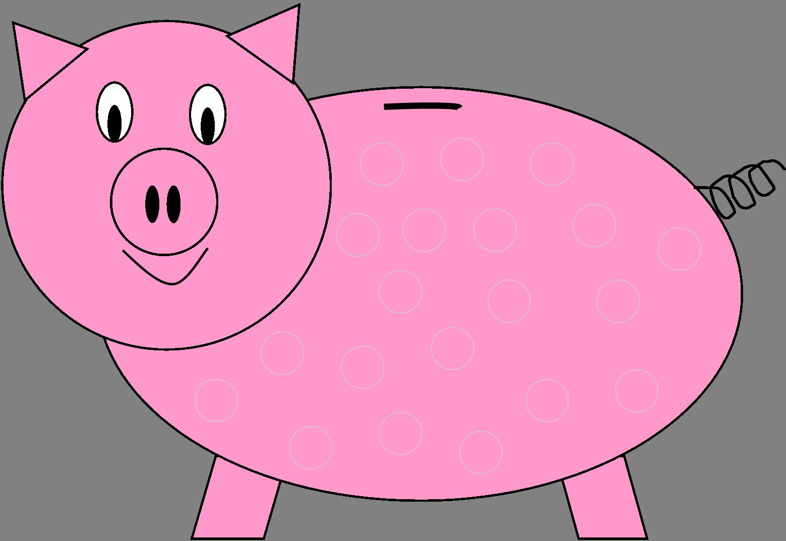 Piggy bank clip art 9 clipart