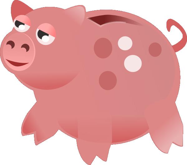 Piggy bank clip art at vector clip art 3