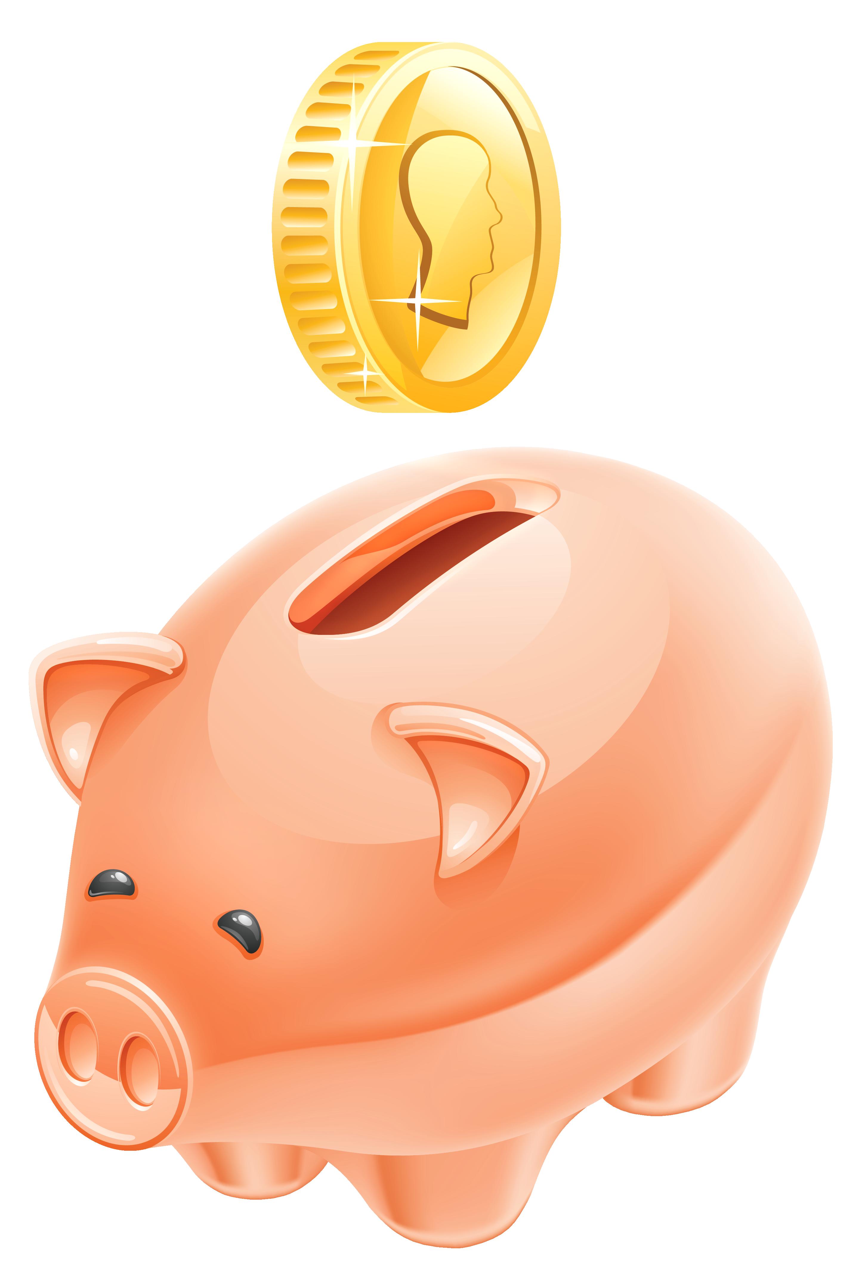 Piggy bank clipart picture clipart