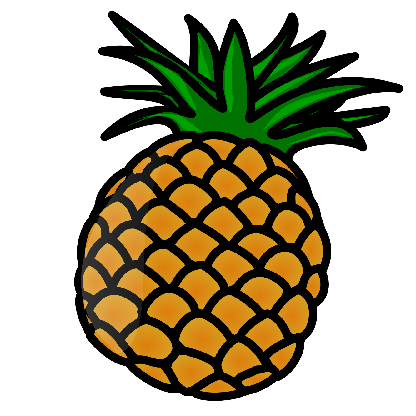 Pineapple clip art free clipart images 2 clipartwiz