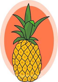 Pineapple clip art free clipart images clipartwiz