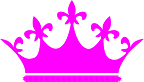 Pink crown clipart free images
