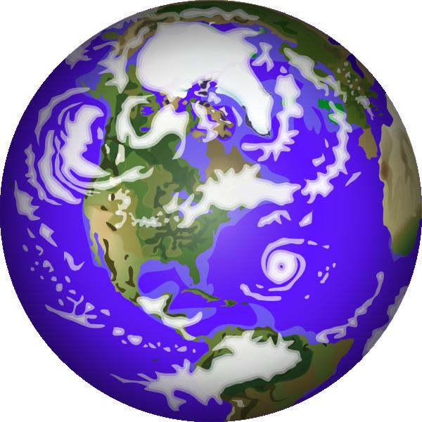 Planet earth clip art free vector 4vector