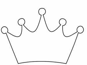 Princess crown clipart free images at vector