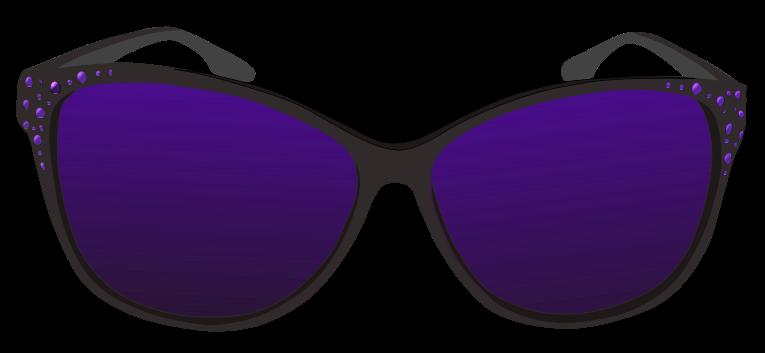 Purple sunglasses clip art free clipart images