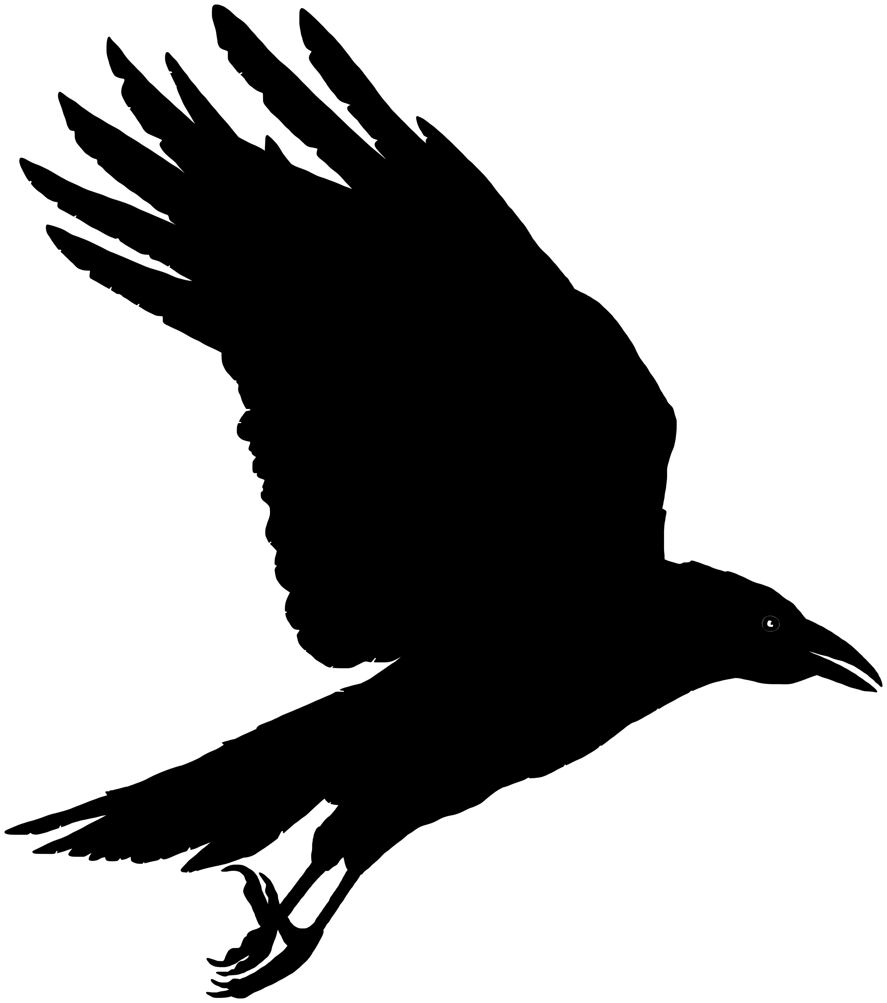 Red crow clipart clipart