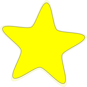 Silver star clipart free images