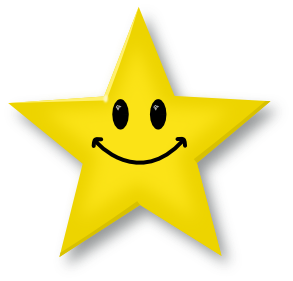Smiley face star clipart free images 2