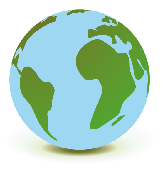 Smiling earth clipart free images